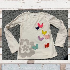 4/$20🌸 Carters Butterfly Top